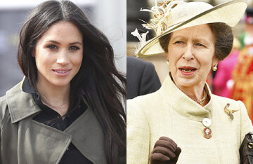 Media: behind the racist attacks against Meghan Markle and Prince Harry was the daughter of Queen Elizabeth II-Princess Anne