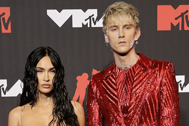 MTV Video Music Awards 2021: Megan Fox and Colson Baker on the red carpet