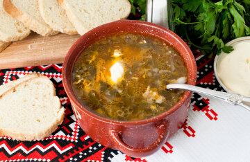 Green borscht: a delicious spring recipe