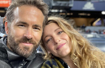 They're joking again: Blake Lively laughed at her husband Ryan Reynolds' statement about a career break