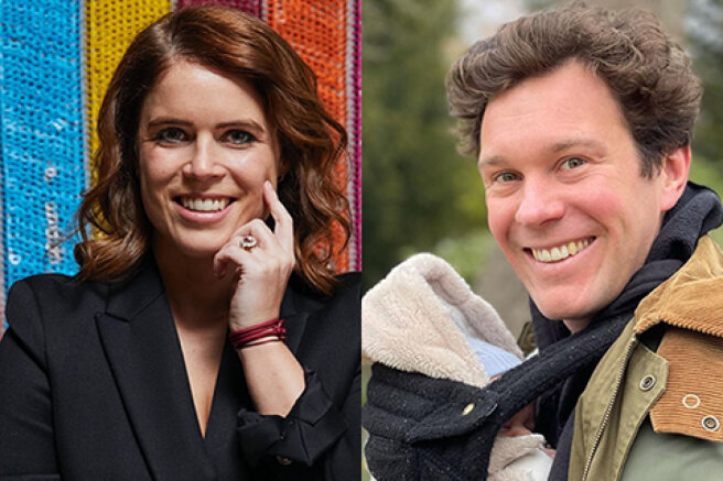 Princess Eugenie wished her husband Jack Brooksbank a happy birthday and shared a new picture of their son