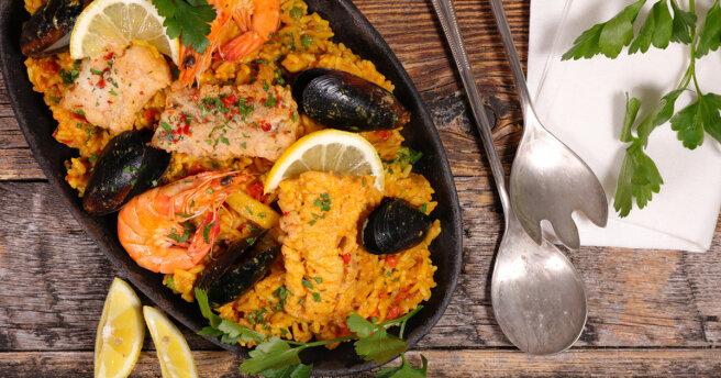 Vera Brezhneva's favorite Spanish dish: how to make paella