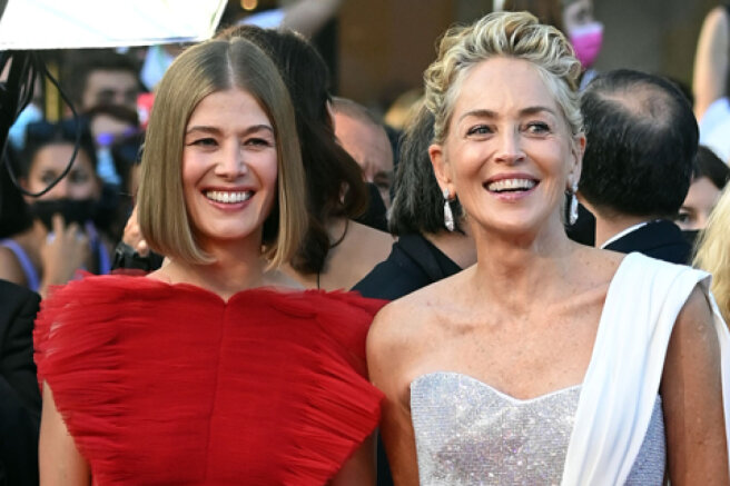 Cannes-2021: Sharon Stone, Rosamund Pike, Adele Exarkopoulos and others at the closing of the festival