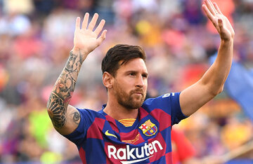Lionel Messi has left Barcelona ,where he played throughout his career