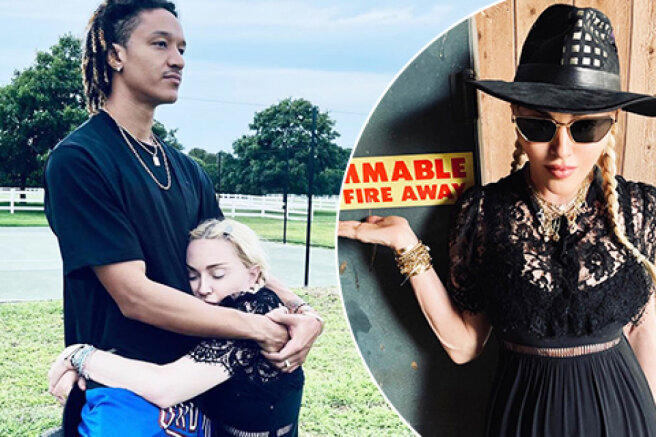 Madonna had a rest in nature with boyfriend Ahlamalik Williams
