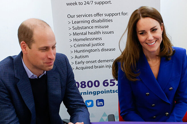 Kate Middleton and Prince William visit charity as part of their tour of Scotland