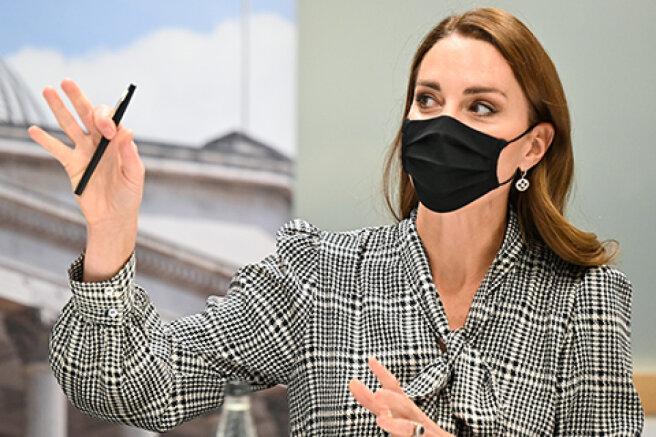 Kate Middleton visits University College London