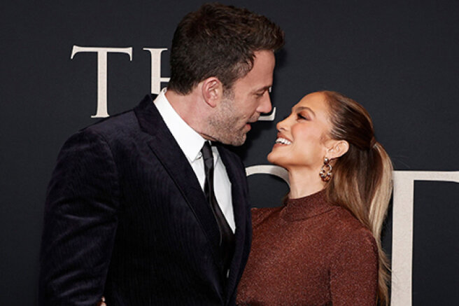 """Jennifer Lopez supported Ben Affleck at the premiere of the film """"The Last Duel"""" in New York"""