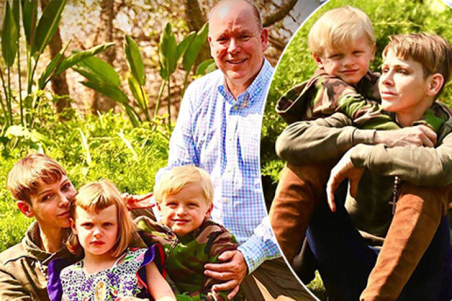 Princess Charlene of Monaco has finally been reunited with her husband Prince Albert II and children after a serious illness