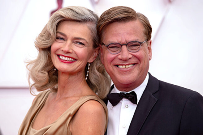 Paulina Porizkova and Aaron Sorkin broke up four months after the beginning of the novel