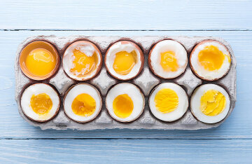 How much and how to cook eggs