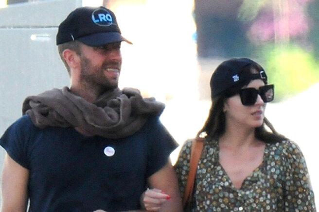 Dakota Johnson and Chris Martin spend a romantic weekend in Majorca: photos