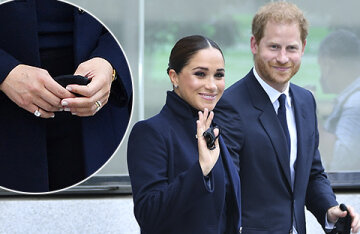 The mysterious ring on the little finger and the watch of Princess Diana: Meghan Markle went out in jewelry worth 400 thousand dollars