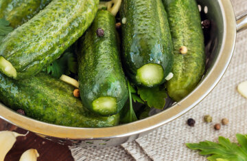 Lightly salted cucumbers: a recipe for simple and quick pickling