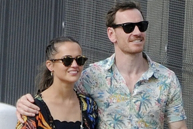 Alicia Vikander and Michael Fassbender relax in Ibiza: fresh photos of the couple