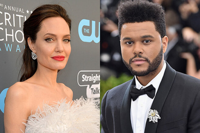 Angelina Jolie and The Weeknd have been spotted together Again Amid Romance Rumors