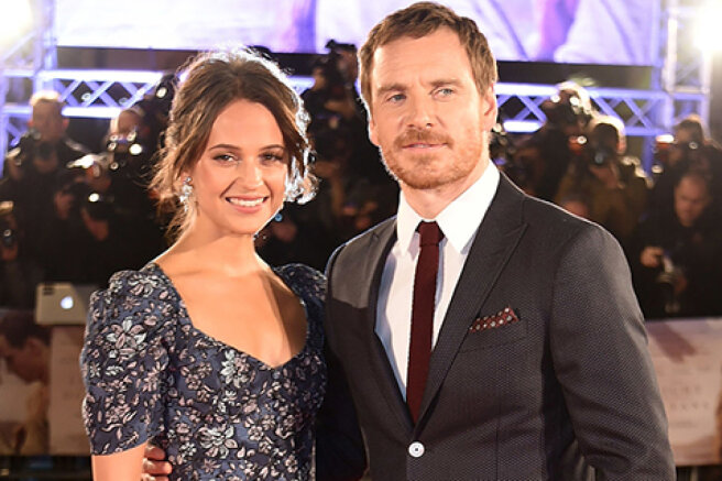 Alicia Vikander and Michael Fassbender became parents for the first time