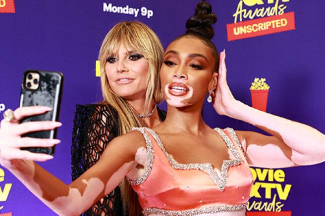 Heidi Klum, Paris Hilton, Winnie Harlow at the MTV Movie & TV Awards: Unscripted