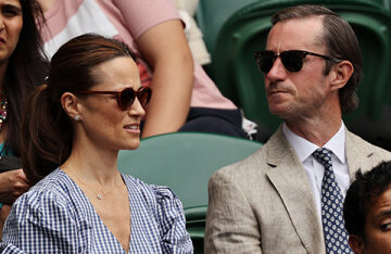 Pippa Middleton and her husband James Matthews came out for the first time in a long time