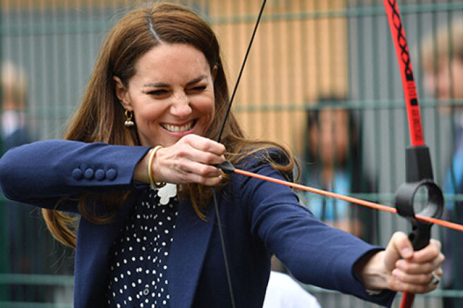 Archery, tennis and gardening: Kate Middleton and Prince William's new Outing
