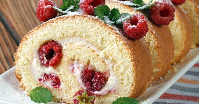 TOP 3 dishes with raspberries: delicious recipes
