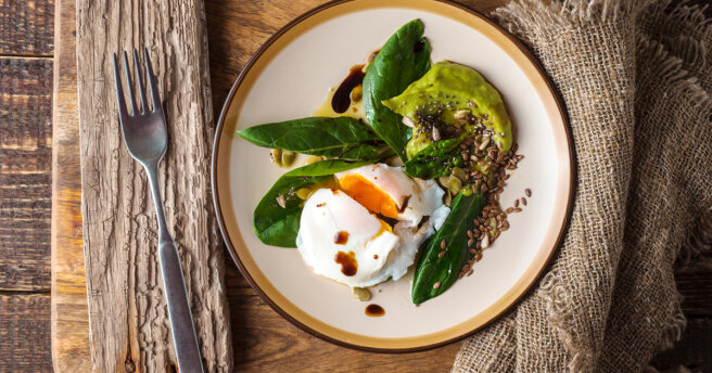 Poached Egg Salads: 5 simple recipes