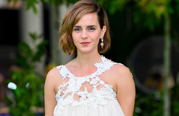 Emma Watson is out for the first time in two years