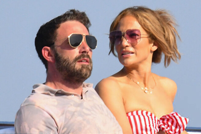 Jennifer Lopez and Ben Affleck are vacationing in Italy: new photos