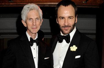 Designer Tom Ford's husband Richard Buckley has died