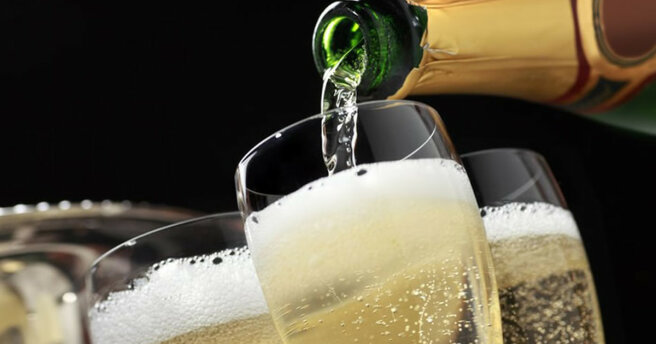 Sparkling wine or champagne?