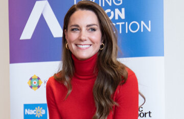 Kate Middleton gave a speech at a charity event in London