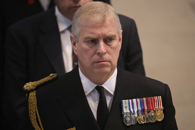 Prince Andrew was sued over allegations of rape of a minor