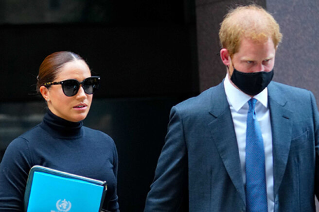 Meghan Markle and Prince Harry on the streets of New York: new photos