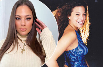 """Fans of Ashley Graham discuss her teen photos: """"You don't change!"""""""