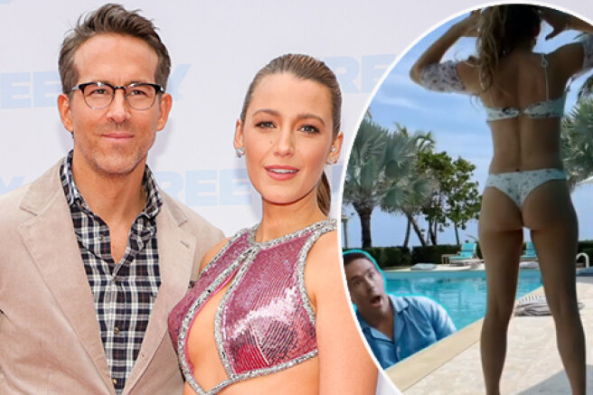 Supported or touched: Blake Lively posted a picture in a bikini to advertise a movie with Ryan Reynolds