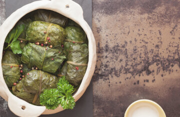 Dolma with rice: we cook delicious, though lean