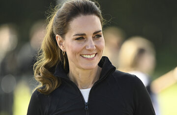 Kate Middleton and Prince William played rugby in Northern Ireland