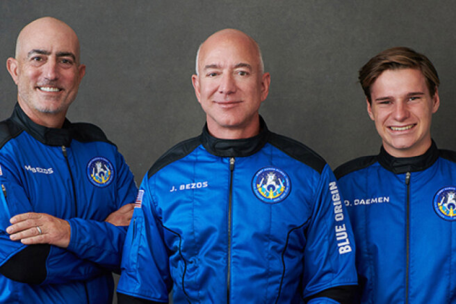 How was the flight of billionaire Jeff Bezos into space: photos, videos and interesting details
