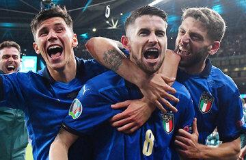 The Italian national team won the European Football Championship, beating England on penalties