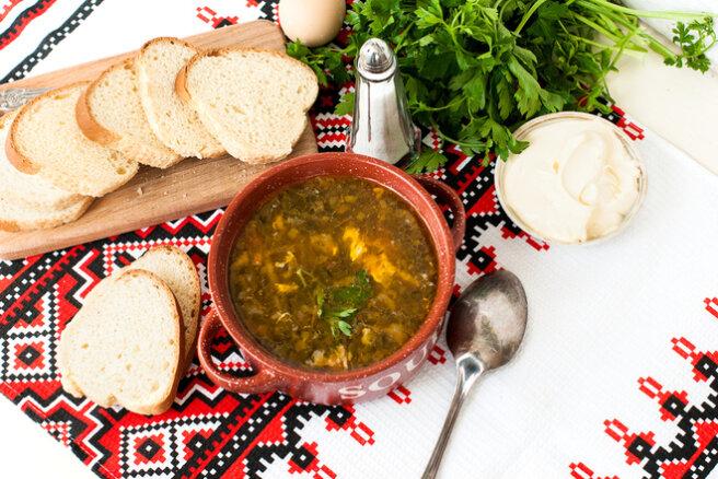 Green borscht-spring recipe
