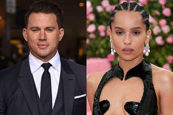 Channing Tatum and Zoe Kravitz provoked rumors of an affair
