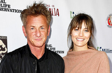 A year after the wedding, Sean Penn's young wife filed for divorce from the actor