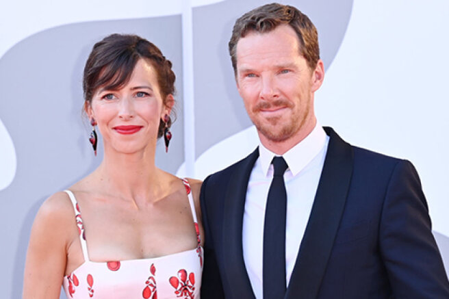 Venice-2021: Benedict Cumberbatch and Sophie Hunter, Kirsten Dunst and others at the premieres