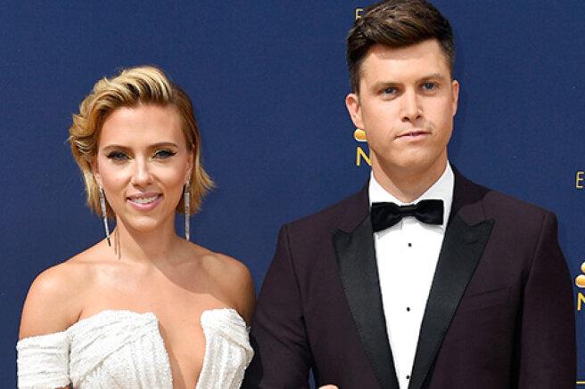 Scarlett Johansson and Colin Jost have a child