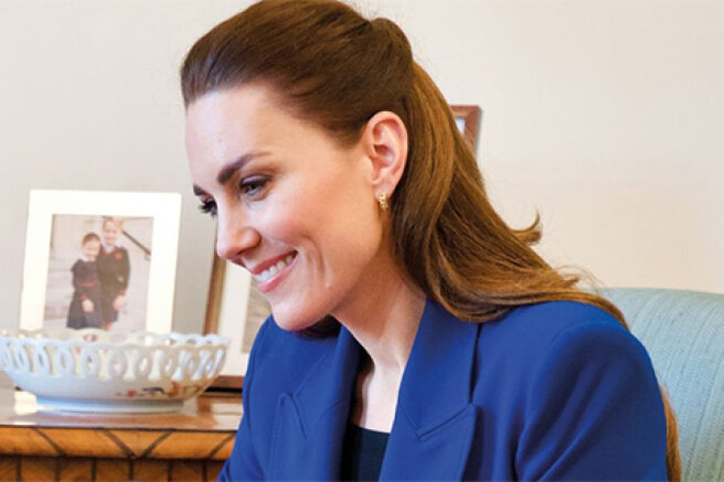 Kate Middleton interviewed a midwife from Uganda for a medical magazine