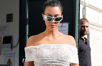 A bold image in the Vatican and a meeting with Kate Moss: how Kim Kardashian spends her vacation in Italy
