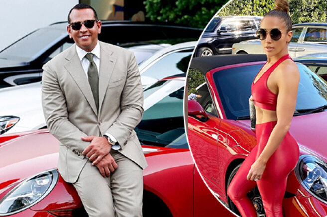 I'll give you back everything that you gave: Jennifer Lopez's fans believe that she returned the convertible that she gave Alex Rodriguez