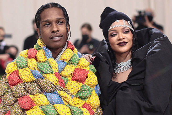 Rihanna and A$AP Rocky went out together for the first time