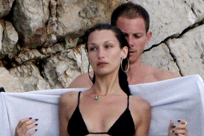 In her free time from the prime minister: Bella Hadid is relaxing with her new alleged boyfriend