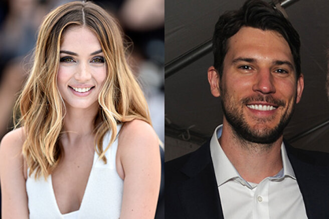 Ben Affleck's ex-girlfriend Ana de Armas meets with the vice president of the dating app Tinder